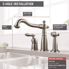faucet cost to replace kitchen faucet best of delta 155 ss dst victorian single handle widespread