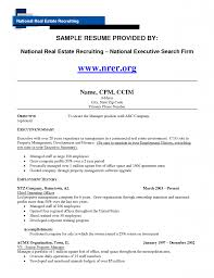 Assistant Property Manager Resume Sample Job And Template For