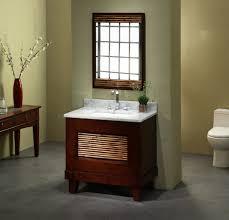 White Wood Bathroom Vanity Interior Contemporary Bathroom Design Idea With Brown Mahogany