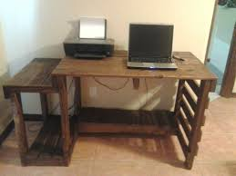 computer table ideas gorgeous 15 diy computer table with side table