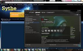 dota 2 steam account for sale with many more games sell trade