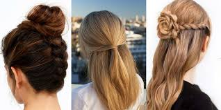 Hairstyle Yourself 41 diy cool easy hairstyles that real people can actually do at 8011 by stevesalt.us
