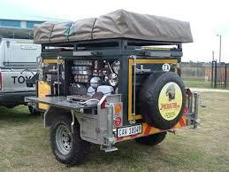 adventure camping traiker off roading 4x4 trucks trailers off road utility and camping trailers