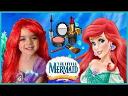 you to disney princess ariel makeup tutorial the little mermaid makeup disney makeup tutorial