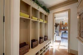 MudroomLaundry Room  Rustic  Entry  Atlanta  By Peace DesignMud Rooms Designs