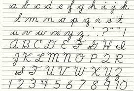 Color Pages Capitald Lowercase Cursive Letters Az