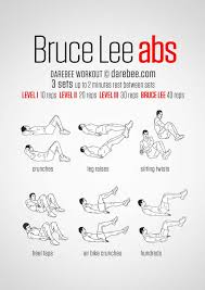 bruce lee six pack