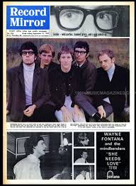 Pop Charts 1965 Record Mirror September 18 1965 1960s Music Magazines