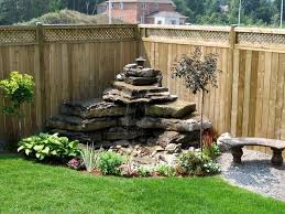 Corner Garden Design Delectable Backyard Living Space Add Water Features To Your Backyard Garden