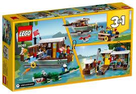 Купить <b>Конструктор LEGO</b> Creator 31093 <b>Плавучий</b> дом по низкой ...