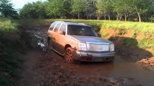 2003 Cadillac Escalade stuck off-road - YouTube