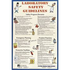 Laboratory First Aid Chart Carolina Laboratory Safety Guidelines Chart Science Prints