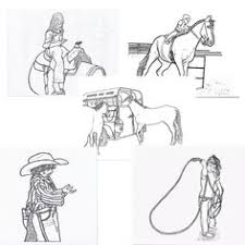 Small Picture FREE PRINTABLE RODEO COLORING PAGES BY DANCING COWGIRL DESIGN If