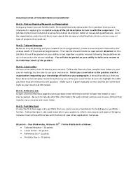 Writing Assignment 1 Cover Letter And Resume Web Hosting At