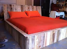 pallet bedroom furniture. Queen Size Bed From Pallets Pallet Bedroom Furniture .