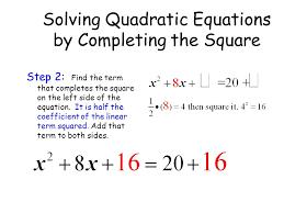 3 solving quadratic