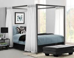 Terrific Curtains Twin Metal Also Of Chrome Canopy Bed On Home Decor ...
