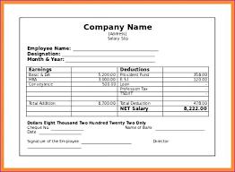Employee Salary Slip Sample Enchanting Free Payslip Template Filename Pdf Sample Pairproco