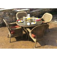 glass patio table round glass patio table set folding patio table and chairs set tortuga outdoor lexington 5 piece mojave glass patio dining set