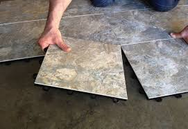 basement flooring modular tile