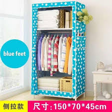 clothes storage wardrobe fashion cabinet size 150 70 45cm