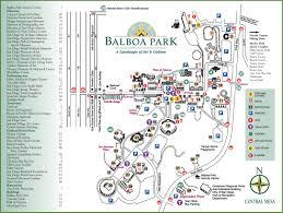 san diego balboa park map