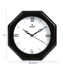 to zoom in out 8 inch atomic wall clock fusee