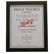 ornate white picture photo poster frame with glass a4 skelf frames ltd