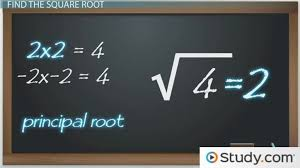 how to find the square root of a number lesson transcript study com