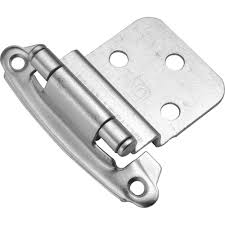 Hickory Hardware 38 In Inset Black Iron Self Closing Hinge 2 Pack