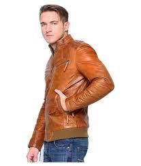 mozri brown leather jacket mozri brown leather jacket