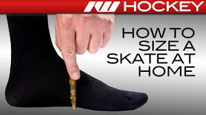 Junior Ice Skates Size Chart How To Find Your Hockey Skate Size At Home Ice Warehouse