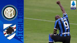 Inter 2-1 Sampdoria   Lukaku and Martinez Find the Back of the Net for Inter!