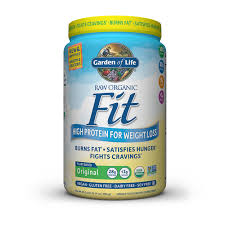 garden of life raw organic fit protein powder unflavored 30 1oz