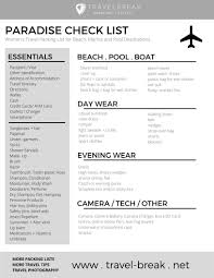 Vacation Checklist Womens Beach Packing List Planning Guide Travelbreak