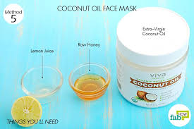 extra virgin coconut oil anti acne and skin nourishing properties 1 tablespoon
