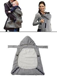 Infant Baby Carrier Wrap Comfort Sling Winter Warm Cover Cloak ...