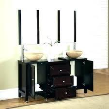 bowl sink vanity. Vanity With Vessel Sink Combo Sinks Cabinet Glass Bowl Bathroom Vanities Double T