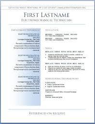 Sample Professional Resume Format Sample Resume Letters Job