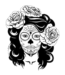 Sugar Skull Collection Of Skull Coloring