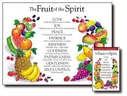 Fruit Of The Spirit Award Certificates Templates Free