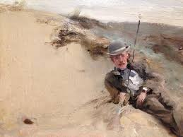 """Ivey Rucket on Twitter: """"John Singer Sargent on view at the High. You can  see sand embedded in the surface of the paint. #ITweetMuseums  https://t.co/Qc9KQohUSZ"""""""