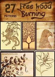 Free Wood Burning Patterns