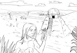 Native American Coloring Pages Free Ayushseminarmahainfo