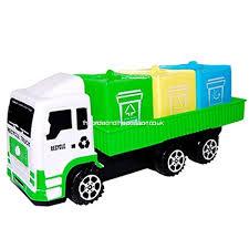 Winkey Toy for 1 2 3 4 5 6 Years Old Kids Girls Boys Children Educational Sanitation Car Toys Truck Imaginative Play Improving Fine