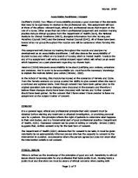 accountable practitioner consent university subjects allied to  page 1 zoom in