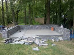 Granite Wall corinthian granite sitting wall and patio in waltham ma d s 3192 by xevi.us