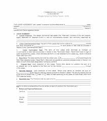Sample Commercial Lease Agreement Form Offer To Property How Write ...