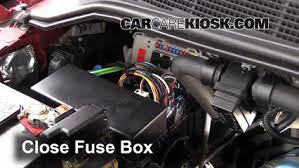 replace a fuse 2004 2015 nissan armada 2009 nissan armada se 5 6l 2006 Nissan Altima Fuse Box Diagram 6 replace cover secure the cover and test component
