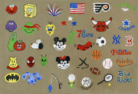 simple face painting designs sheet 2